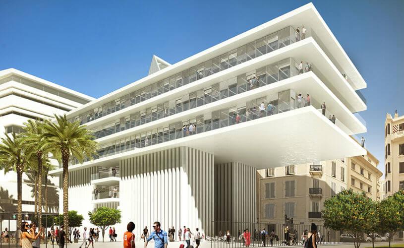 Journée Portes Ouvertes en février 2020 sur le campus de Toulon - KEDGE