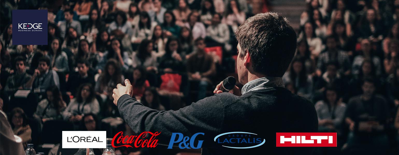 Les étudiants de KEDGE vont négocier avec L'OREAL, Coca-Cola, P&G, Lactalis et HILTI - KEDGE