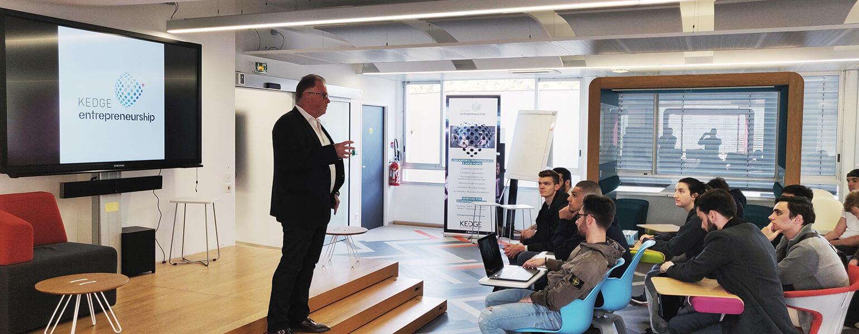 KEDGE réunit start-up et grands groupes pour la 5ème édition du Challenge Open Innovation Entreprise  - KEDGE